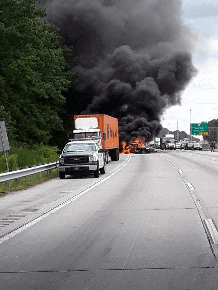 Volvo Of Greenville >> Fatal I-26 EB Tractor Trailer Crash in North Charleston ...